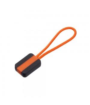 Пуллер для молнии, оранжевый