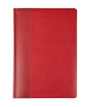 Ежедневник BRAND, недатированный, красный