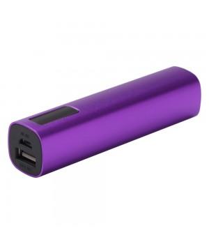 Внешний аккумулятор Easy Metal 2200 мАч, фиолетовый