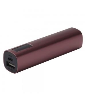 Внешний аккумулятор Easy Metal 2200 мАч, коричневый