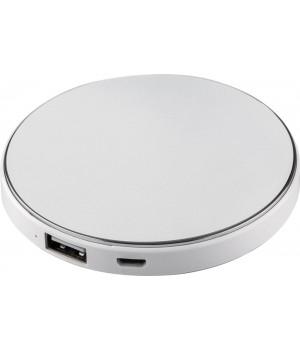 Внешний аккумулятор с подсветкой логотипа Uniscend Disc, 3000 мАч