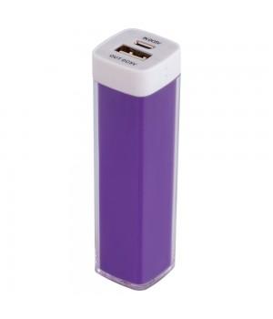 Внешний аккумулятор Bar, 2200 мАч, ver.2, фиолетовый