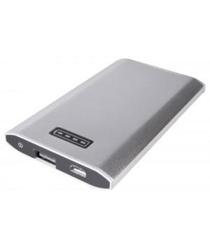 Внешний аккумулятор Uniscend Slim 5300 мАч, серебристый