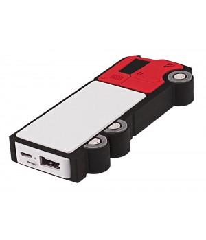 Внешний аккумулятор «Грузовик» 2500 мАч, красный