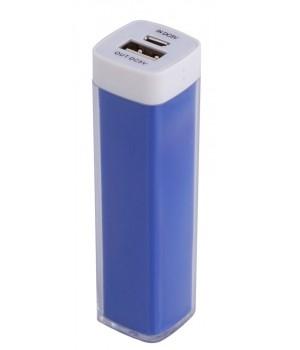 Внешний аккумулятор Bar, 2200 мАч, ver.2, синий