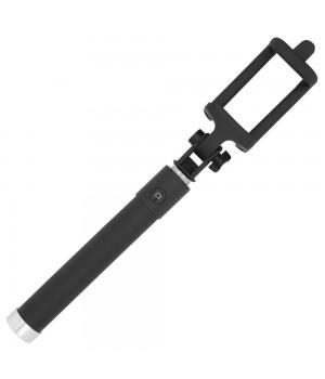 Монопод для селфи Buro Bluetooth, беспроводной, черный