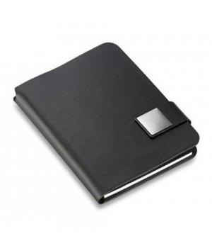 Книжка для записей формата А6 с отделением под смартфон Tom