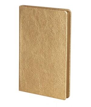 Блокнот Ingot mini, золотистый
