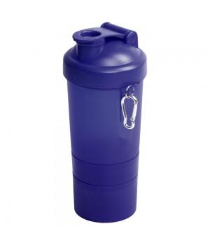 Спортивная бутылка-шейкер Triad, синяя