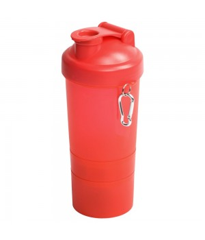 Спортивная бутылка-шейкер Triad, красная