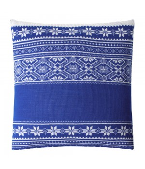 Подушка «Скандик», синяя (василек)