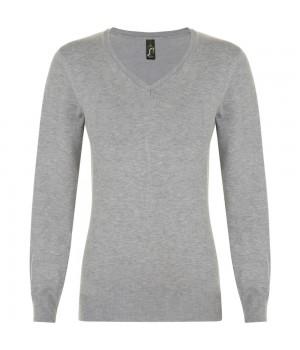 Пуловер женский GLORY WOMEN, серый меланж