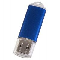 Флешка Simple, синяя, 8 Гб
