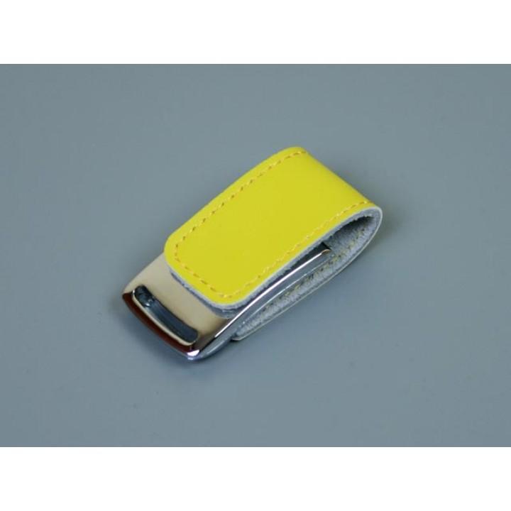 Флешка TR-216, 32 Гб, желтый.