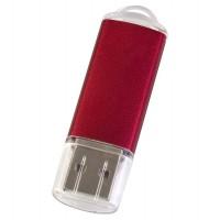 Флешка Simple, красная, 8 Гб