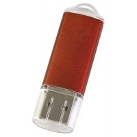 Флешка Simple, оранжевая, 8 Гб