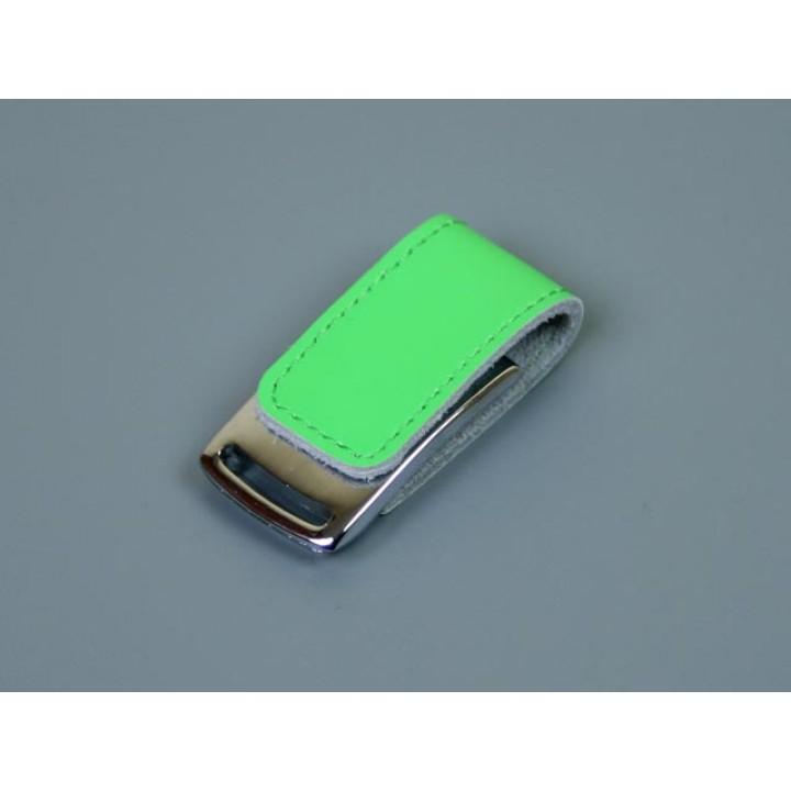 Флешка TR-216, 32 Гб, зеленый.