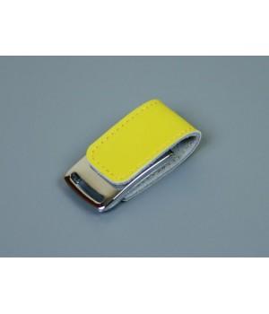 Флешка TR-216, 16 Гб, желтый.