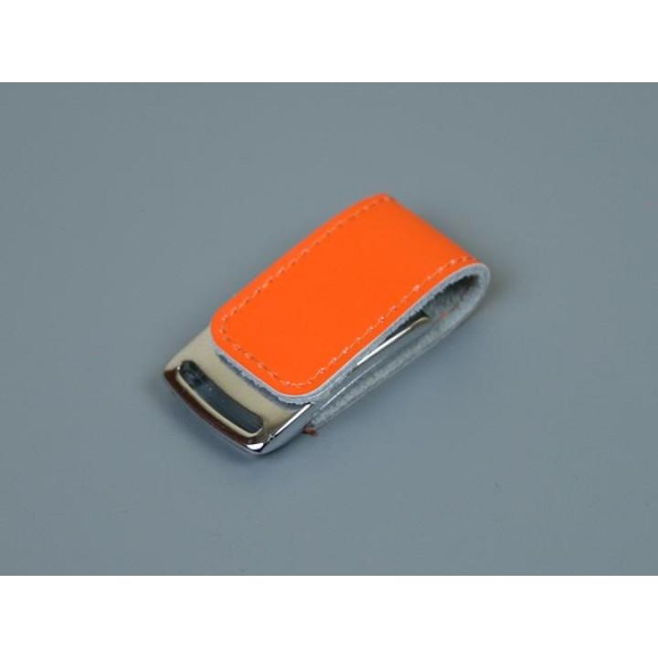 Флешка TR-216, 16 Гб, оранжевый.