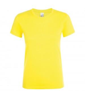 Футболка женская REGENT WOMEN, лимонно-желтая