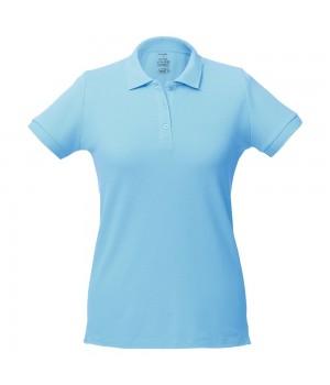 Рубашка поло женская Virma Lady, голубая