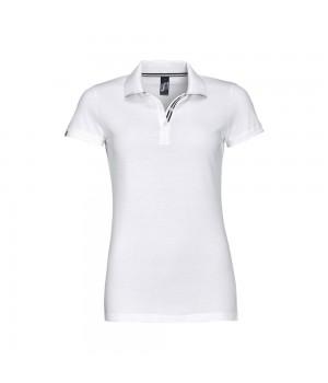 Рубашка поло PATRIOT WOMEN, белая с черным