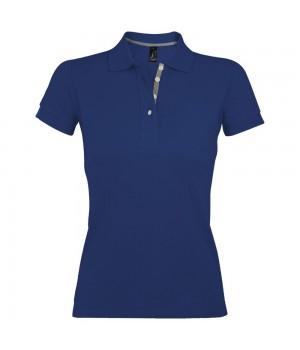 Рубашка поло женская PORTLAND WOMEN 200 синий ультрамарин