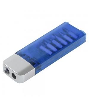 Отвертка с фонариком Miner, синяя