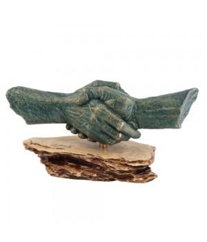 Скульптура «Рукопожатие»