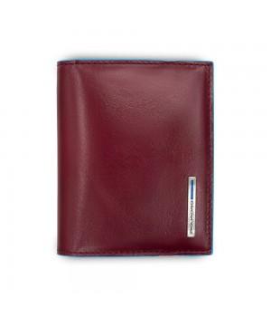 Чехол для кредитных карт Piquadro Blue Square, красный