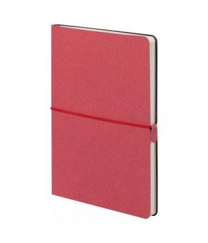 Ежедневник Folk, недатированный, красный