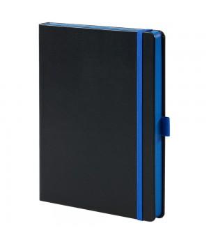 Ежедневник Tone недатированный, черный с синим
