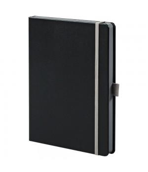 Ежедневник Tone недатированный, черный с серым