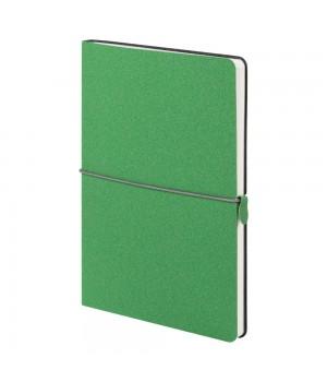 Ежедневник Folk, недатированный, зеленый