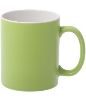 Кружка Promo матовая, зеленое яблоко