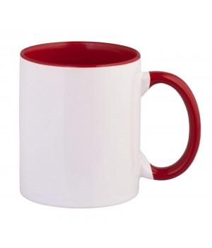 Кружка Promo plus для сублимации, красная