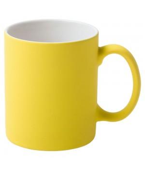 Кружка Promo c покрытием софт-тач,желтая