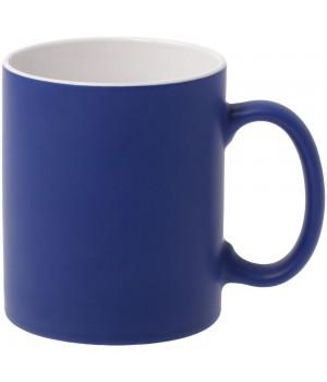 Кружка Promo матовая, синяя