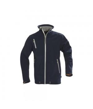 Куртка софтшелл мужская SNYDER, темно-синяя