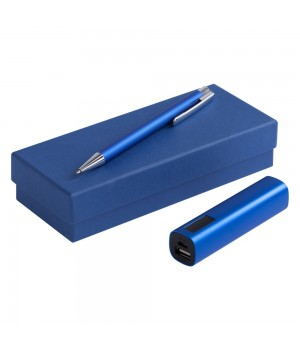 Набор Snooper: аккумулятор и ручка, синий