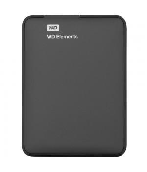 Внешний диск WD Elements, USB 3.0, 1000 Гб, черный