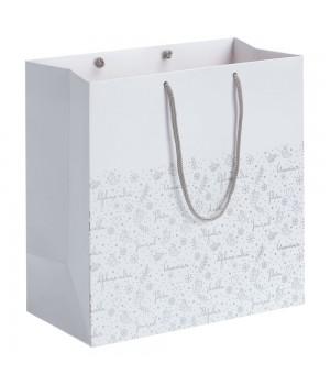 Пакет «Сказочный узор», белый