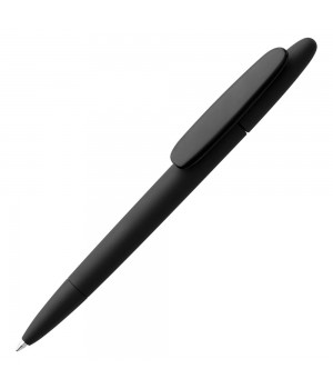 Ручка шариковая Prodir DS5 TRR-P Soft Touch, черная