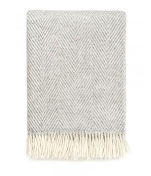 Плед Herringbone, серый