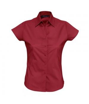 Рубашка женская с коротким рукавом EXCESS, красная