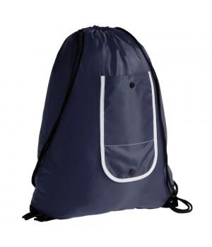 Рюкзак складной Unit Roll, темно-синий