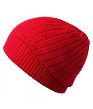 Шапка Stripes, красная