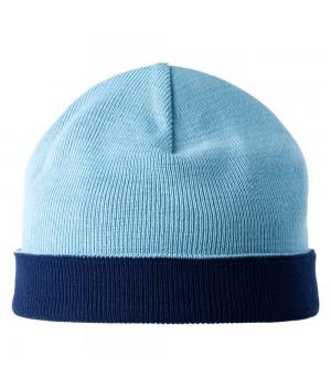 Шапка двусторонняя Multi, сине-голубая