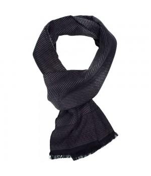Шарф Herringbone, темно-серый