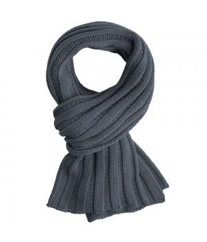 Шарф Chain, темно-серый